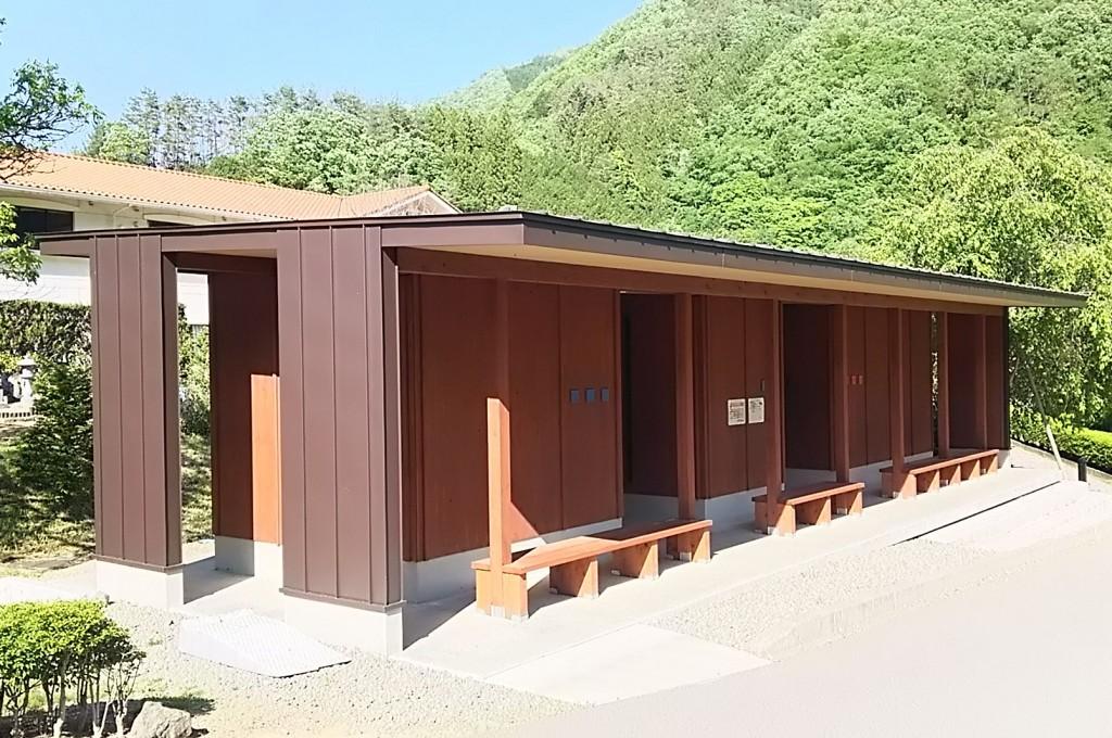 上野村トイレ(『CLT+軸組』工法)
